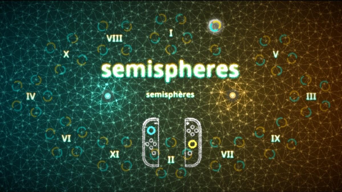 Semispheres - écran titre fin