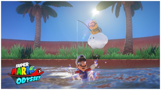 Super Mario Odyssey - pays des sables 6