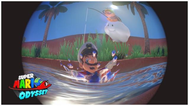 Super Mario Odyssey - pays des sables 7
