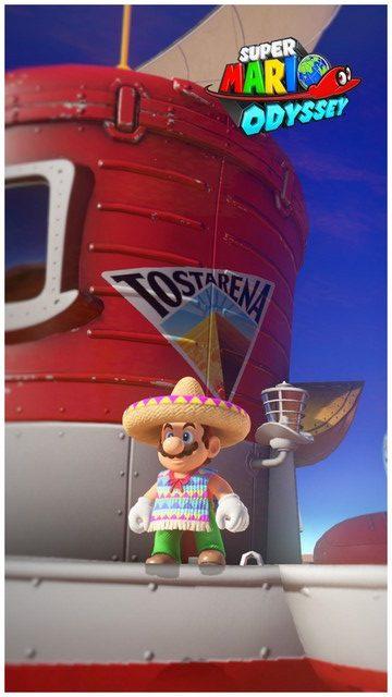 Super Mario Odyssey - pays des sables 12