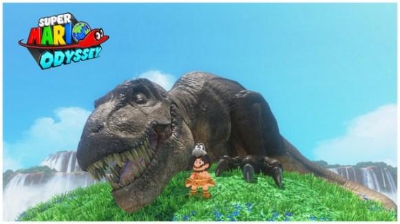 Super Mario Odyssey - pays des chutes 4