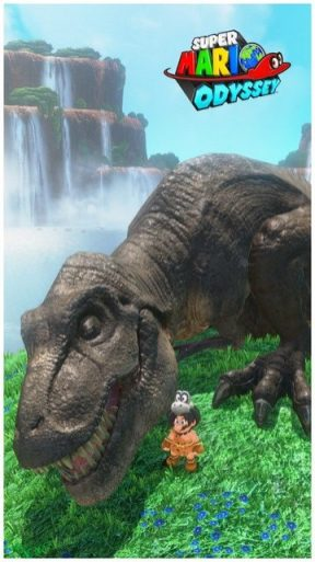 Super Mario Odyssey - pays des chutes 11