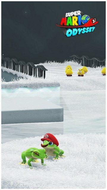 Super Mario Odyssey - pays des chapeaux 17