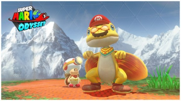 Super Mario Odyssey - pays de la foret 5