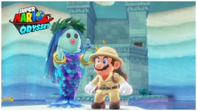 Super Mario Odyssey - pays du Lac 1