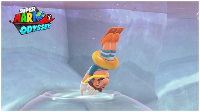 Super Mario Odyssey - pays du Lac 10