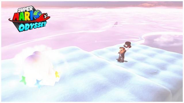 Super Mario Odyssey - pays des Nuages 5