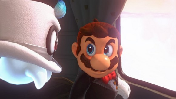 Super Mario Odyssey - pays des Nuages 3
