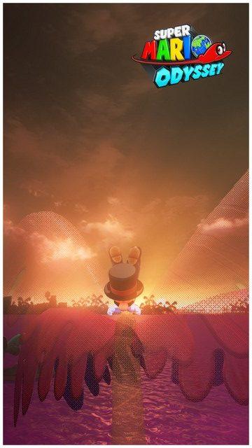 Super Mario Odyssey - pays perdu 9