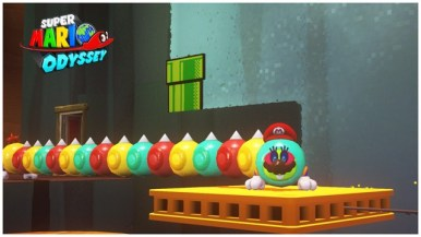 Super Mario Odyssey - pays perdu 1