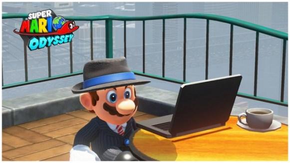Super Mario Odyssey - pays gratte-ciel 14