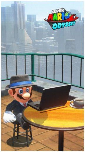 Super Mario Odyssey - pays gratte-ciel 44