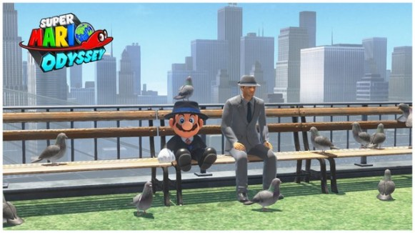 Super Mario Odyssey - pays gratte-ciel 16