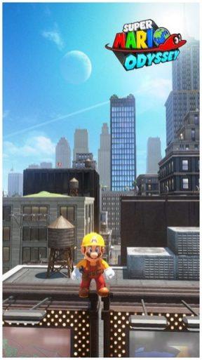 Super Mario Odyssey - pays gratte-ciel 54