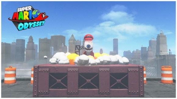 Super Mario Odyssey - pays gratte-ciel 34