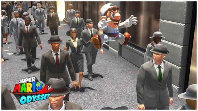 Super Mario Odyssey - pays gratte-ciel 36