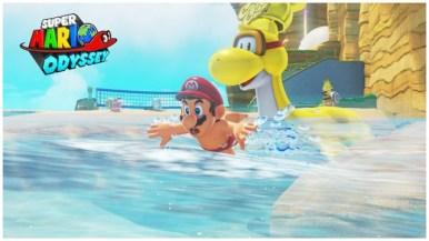 Super Mario Odyssey - pays de la mer 1