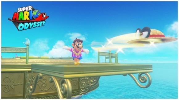 Super Mario Odyssey - pays de la mer 8