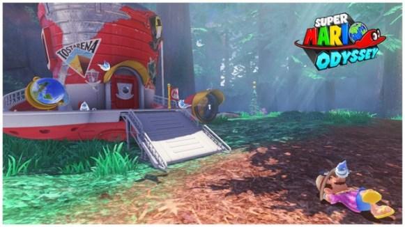 Super Mario Odyssey - pays de la foret 11