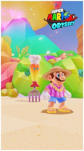 Super Mario Odyssey - pays de la cuisine 10