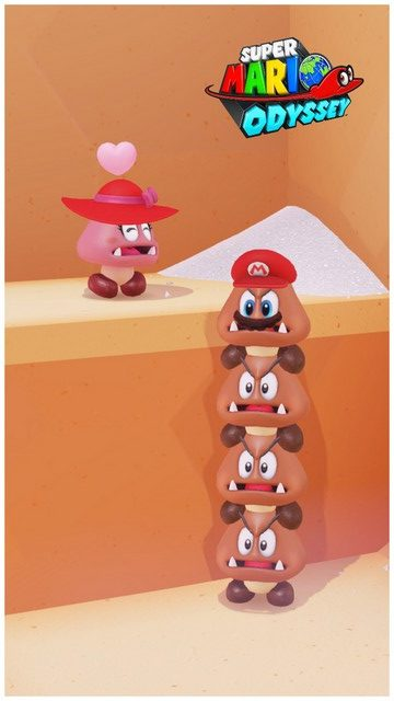 Super Mario Odyssey - pays de la cuisine 12