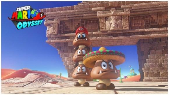 Super Mario Odyssey - pays des sables 16