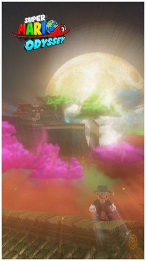 Super Mario Odyssey - pays de Bowser 20