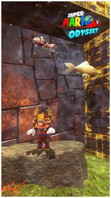 Super Mario Odyssey - pays de Bowser 22