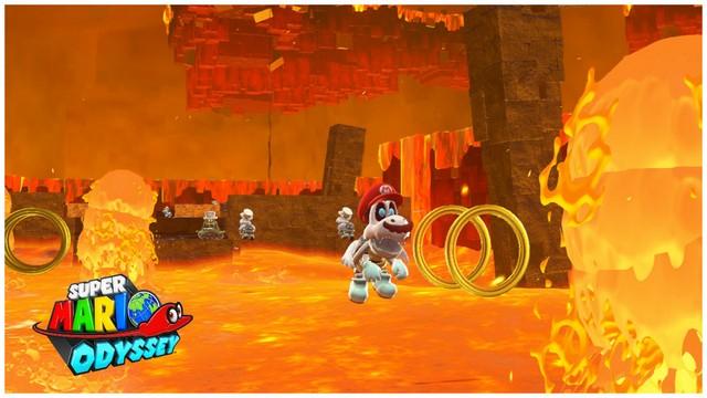 Super Mario Odyssey - pays de la Lune 5