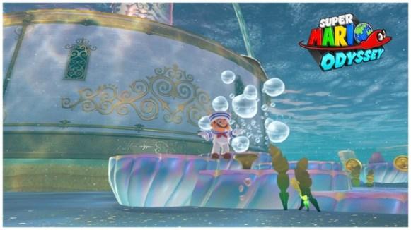 Super Mario Odyssey - pays de la mer 16