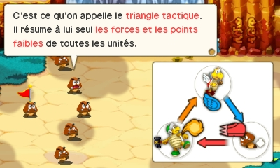 Mario et Luigi Superstar Saga - sbires triangle forces