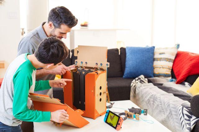 Nintendo Labo - construction robot en famille