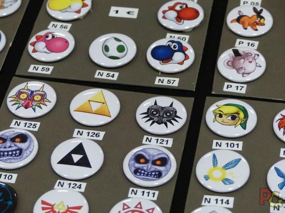 Paris Manga - badges
