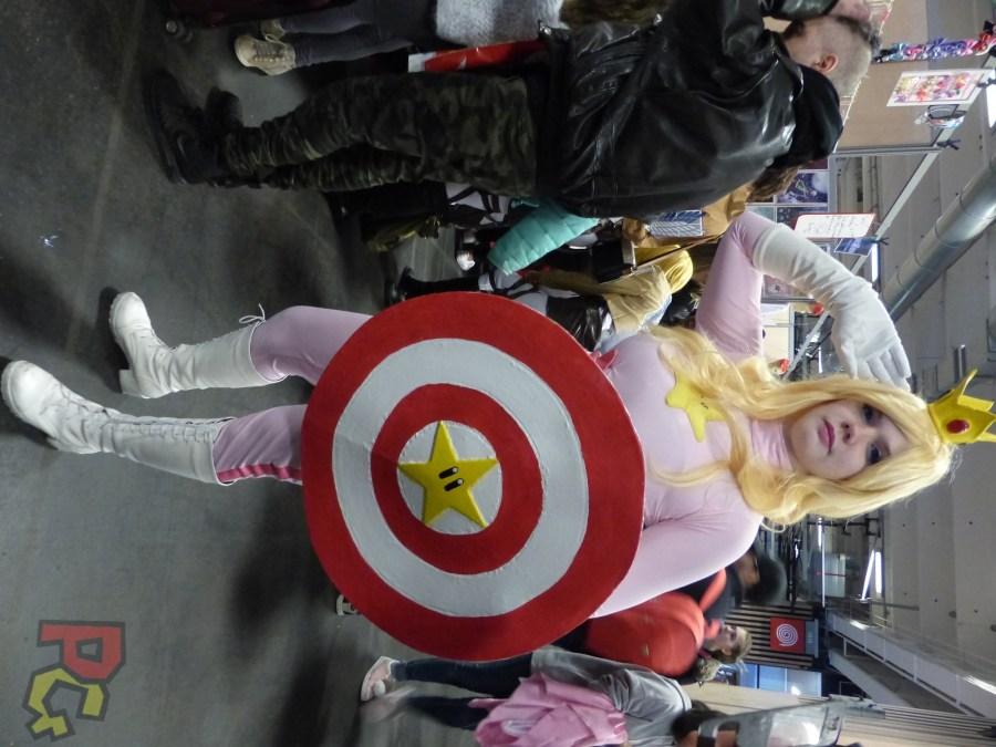 Paris Manga - cosplay Peach Captain America