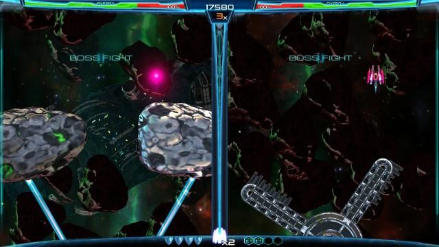 Dimension Drive - boss fight