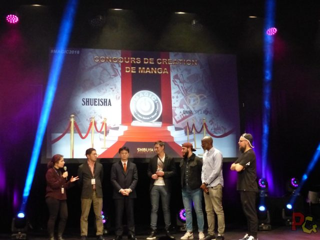 MAGIC2018 - concours manga