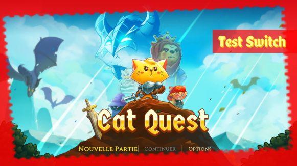 Banniere Cat Quest