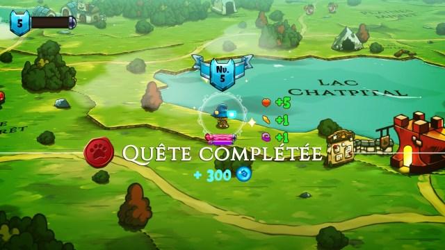 Cat Quest - quête complete