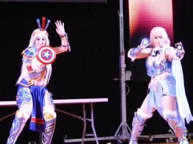 MAGS2018 cosplay disney armures