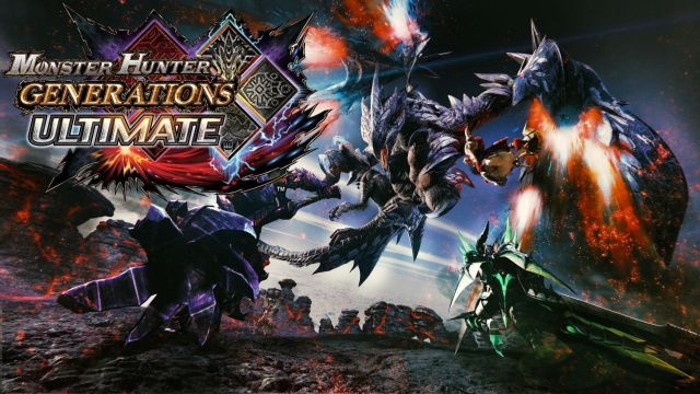 Bannière Monster Hunter Generations Ultimate