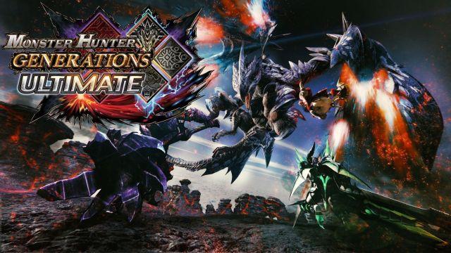 Bannière Monster Hunter Generations Ultimate