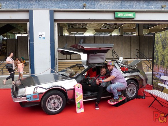 Nice Geek Expo 2018 - Corin Nemec DeLorean