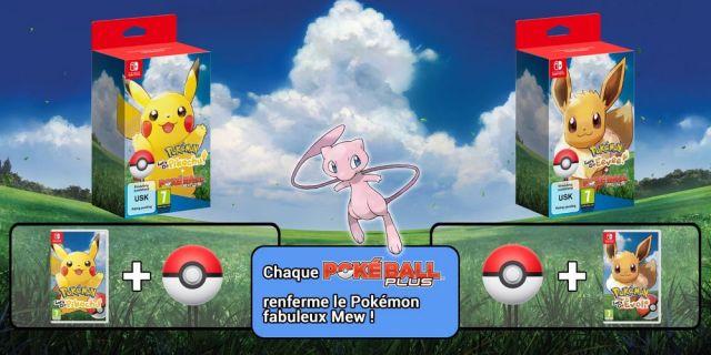 Pokemon Lets Go + Mew