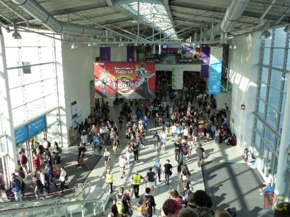 Gamescom 2017 - couloir intérieur