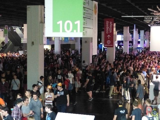Gamescom 2017 - intérieur