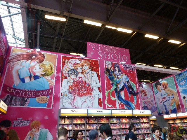 Japan Expo 2018 - village shojo
