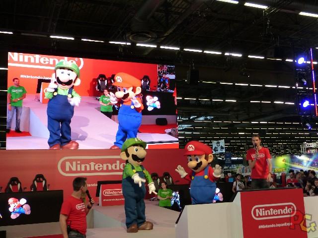 Nintendo Japan Expo 2018 - Mario et Luigi