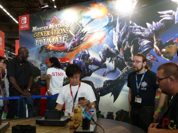 Nintendo Japan Expo 2018 - Monster Hunter