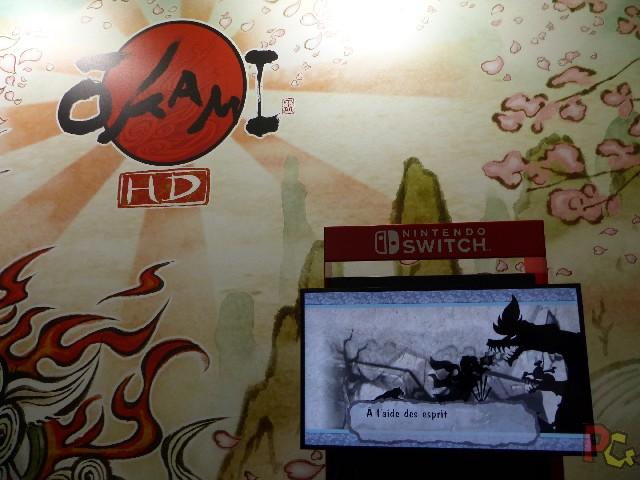 Nintendo Japan Expo 2018 - Okami