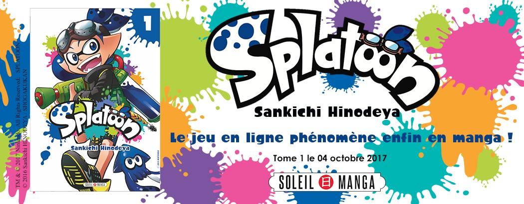 Banniere Splatoon Soleil Manga
